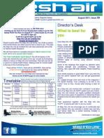 78- Fresh Air Newsletter AUGUST 2011 Keysborough