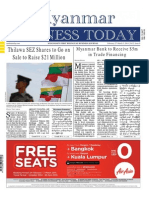 Myanmar Business Today - Vol 2, Issue 9
