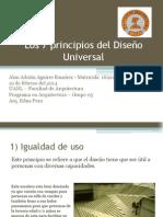 Los 7 principios del Diseño Universal