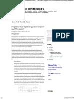 Pengolahan Sinyal Digital Menggunakan Komponen Dsp FFT Di Delphi 7