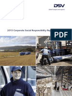 DSV 2013 CSR Report