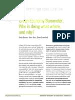 Green Economy Barometer (PDF)