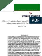Awilco Drilling Presentation