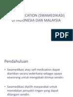 Self Medication (Swamedikasi) Di Indonesia Dan