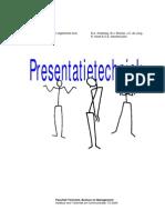 Presentatietechnieken, Presentatie