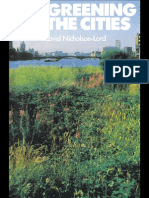 The Greening of the Cities