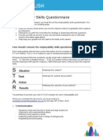 UTS Accomplish - Employability Skills Questionnaire