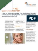 NewNet WMAX 046 WiMax WAP 450 Data Sheet v8