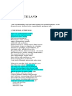 The Waste Land- T.S Eliot