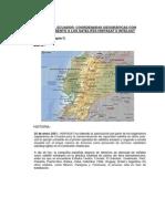 Mapa Ecuador,Coordenadas Intelsat Hispasat