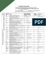 12EC301 Teaching Plan 2013