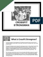 Cross Fit Strongman Manual