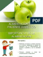 Alimentacion Del Paciente Diabetico Actualizado