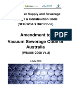 SEQ Amendment to Vacuum Sewerage Code