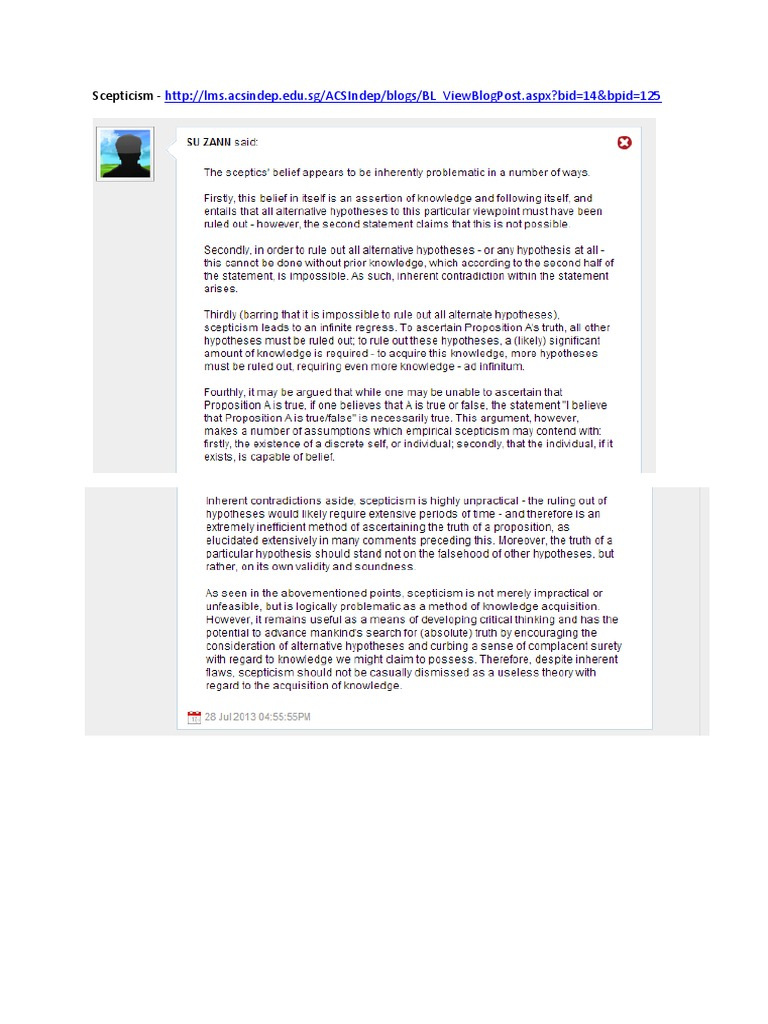 TOK Blog Comments   Natural Selection (6 views)