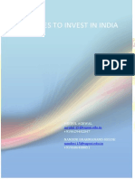 Guidelines to Invest in India