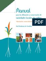 Manual de Conservacion de Variedades Locales
