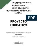 Academia Municipal Acopia