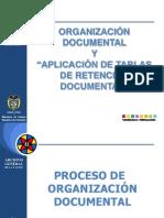 CAPACITACION_ORGANIZACIÓN DOCUMENTAL