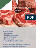Aula 2- Composição Química da Carne