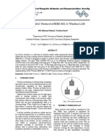 Analysis the MAC Protocol of IEEE 802.11 Wireless LAN