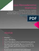Kasus Fibroadenoma Mammae