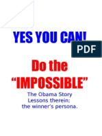 Yes You Can. Do the Impossible-suggested Correcions