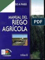 Manual del Riego Agrícola