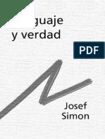 Simon, Josef - Lenguaje Y Verdad [PDF]