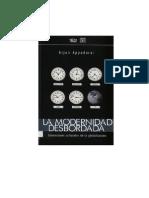 Appadurai, Arjun - La Modernidad Desbordada, Introduccion