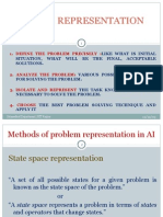 Problem Representation in Ai: