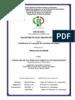 Commande de Machine Electrique en Environnement Matlab-simulink