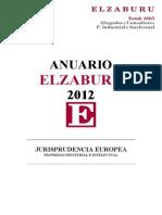 Anuario de Jurisprudencia Sobre PI&I 2012 - Elzaburu