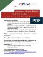 Formation Cliniques Juridiques