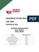 Deja Book - theatre script