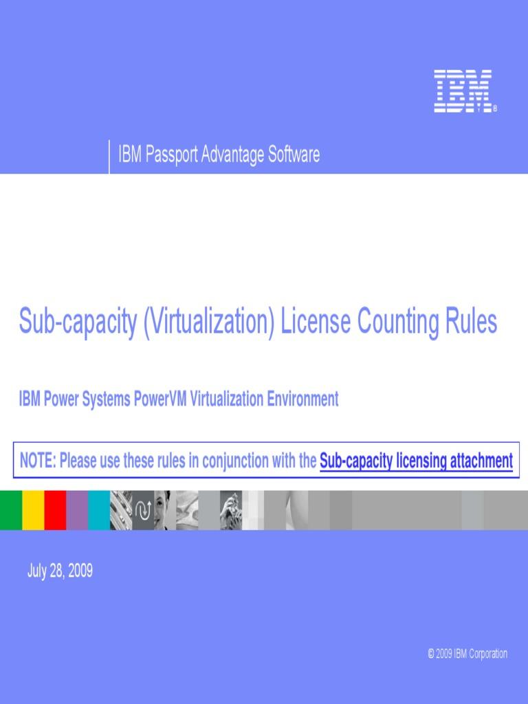 Scenarios PowIBM Power Systems PowerVM Virtualization Environmenter Systems  | Ibm Db2 | Central Processing Unit