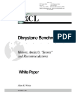 Dhrystone White Paper