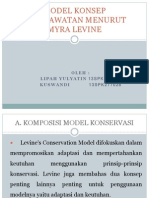 Pp Model Konsep Keperawatan Menurut Myra Levine