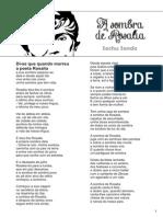 A Sombra de Rosalia. Poema de Sechu Sende