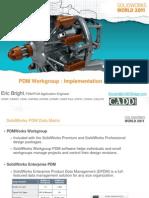 SolidWorks PDM Implementation
