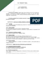 Model Act_constitutiv_societate Asociat Unic