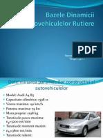 Bazele Dinamicii Autovehiculelor Rutiere Power