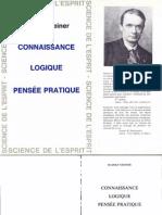 Rudolf Steiner - Connaissance, Logique, Pensée pratique [PDF images avec recherche].pdf