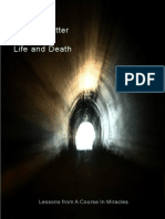 A Simple Matter of Life and Death - A Course In Miracles eBook