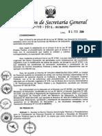 Resolucion de Secretaria General No110-2014-Contrato Docentes Superior 2014