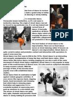 The Origins of Street Dance