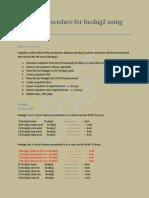Snapshot Procedure for Fncdug2 Using 3Par 3GUI