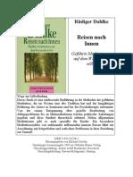 Dahlke, Rüdiger - Meditation - Reisen nach Innen