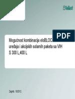 Spajanje EloBLOCK i VRS 560
