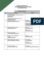 Kalendar Akademik Ijazah Sarjana Muda Di Ipta 2013 2014